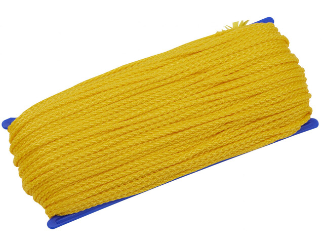 CAMPZ All Purpose Rope 50m 3mm, yellow